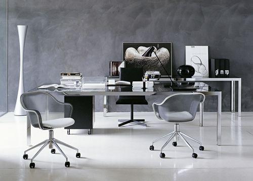 silla con ruedas moderna de Antonio Citterio IUTA B Italia
