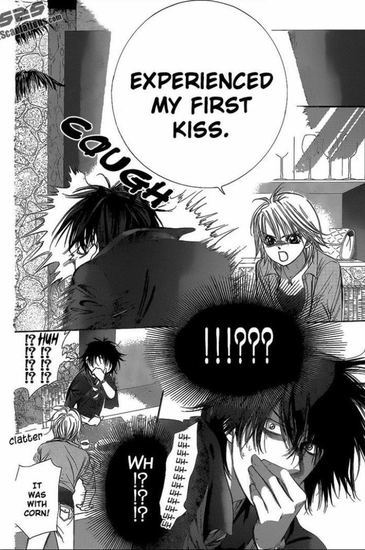 Kyoko and Ren | <3 haha rens reaction