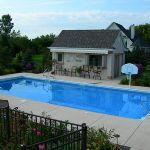 Rectangle Pool Wisconsin | Rectangle Pool Designs | Rectangular Swimming Pools | Custom Inground Swimming Pool Designs | Bob's Pool Builders Wisconsin
