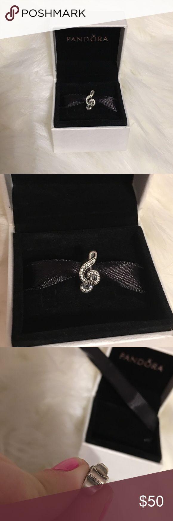 Treble Clef Music Pandora Bead Brand new in box. Has pandora markings Pandora Jewelry