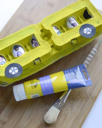 Activities: Create an Egg Carton School Bus