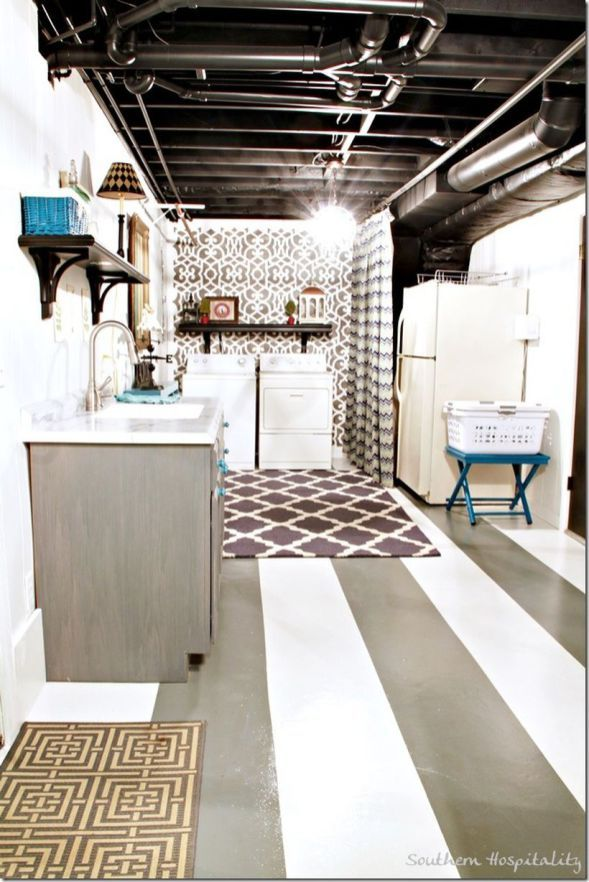 25 best basement laundry rooms ideas on pinterest Basement laundry room remodel