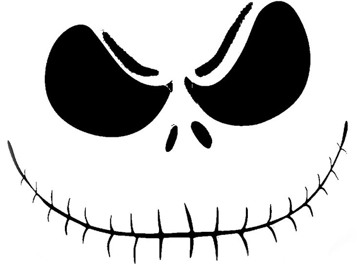 25 Best Ideas About Jack Skellington Pumpkin Stencil On Pinterest
