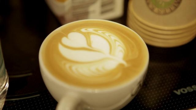 """latte art by Mads.Hoppe. A small film i did for danish coffee company """"Kalles kaffe"""" music is done by artist: Oleg O.Kachanko Song name: A_good_day found on the webpage Jamendo.com"""