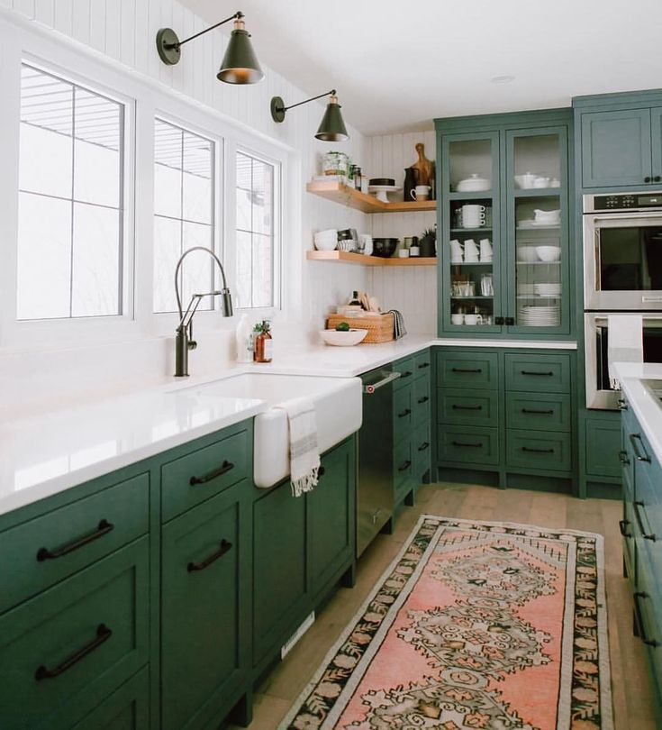 51 Green Kitchen Designs: 5 Important Things That Will Make Your Kitchen Must Go To