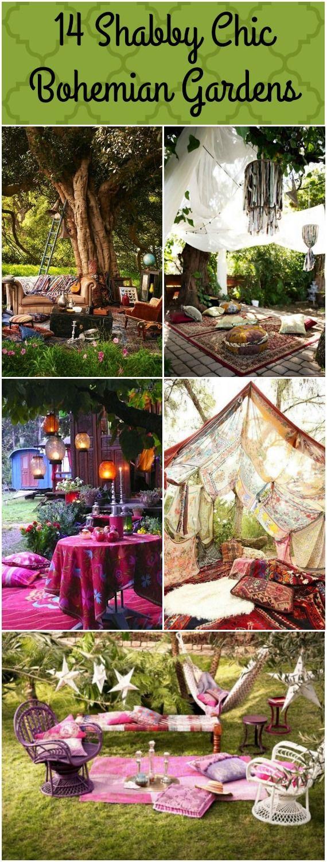 14 Bohemian Style Gardens                                                                                                                                                                                 More