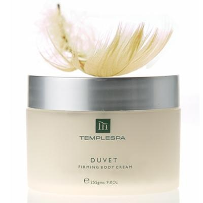 Temple Spa Duvet Firming Body Cream. www.templespa.com/lucybush