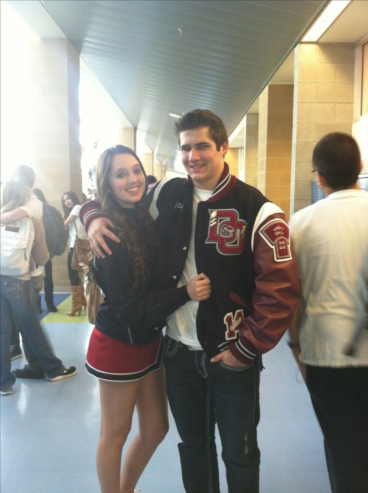 image Cheerleader and football player get it on