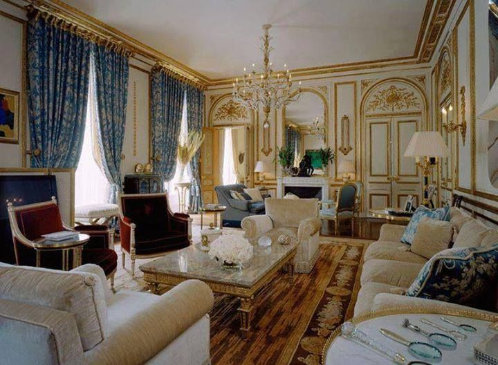 Classic french interior classic interior spaces for Classic interior furniture