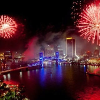 jacksonville fireworks july 4th 2013