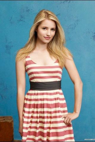 Quinn Fabray--Dianna Agron--Glee