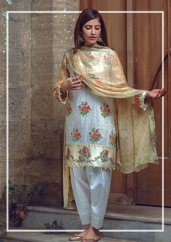 Alkaram Festive Eid Collection 2016 Dresses for Girls