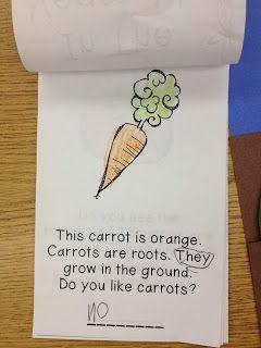Kroger's Kindergarten: Gardens!  Free garden book
