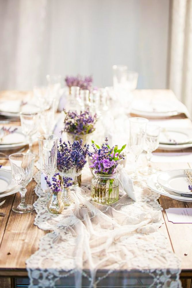 18 The Best Lavender Wedding Decor Ideas ❤ See more: http://www.weddingforward.com/lavender-wedding-decor-ideas/ #wedding