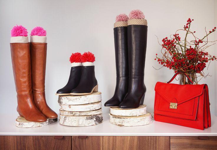 DIY Boot Stuffers with Loeffler Randall