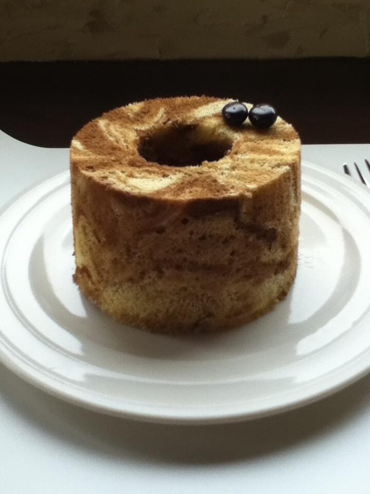 シフォンのコーヒーシフォンケーキ