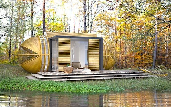 Off-The-Grid Eco-Tourism Vacation Cabin