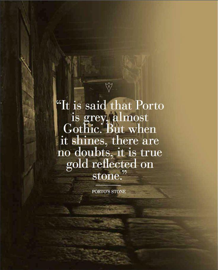 Porto's stone inspiration