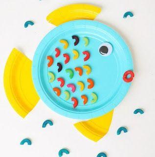19 Manualidades para hacer con niños reciclando platos desechables ~ lodijoella