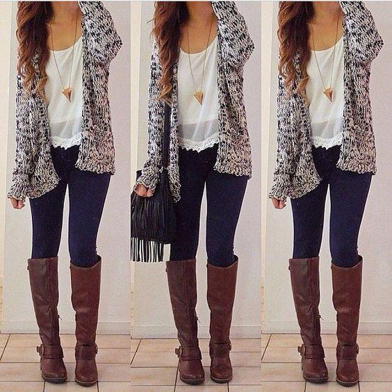 Loose Coat Knit Cardigan V-neck Sweater