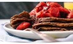 Heerlijke gezonde boekweitpannenkoeken maken is met dit recept een eitje. Ze bevatten langzame koolhydraten en zijn eiwitrijk. Eet ook boekweitpannenkoeken!