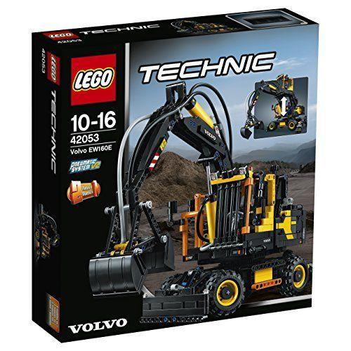 » LEGO 42053 Technic Volvo EW160E Building Set – Multi-Coloured