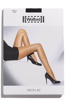 Alternate Image 2  - Wolford 'Neon 40' Pantyhose
