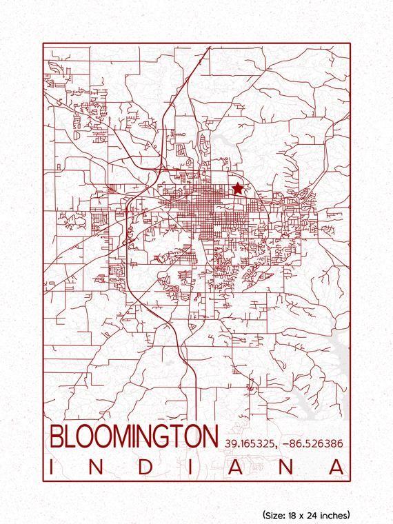 Indiana University Bloomington Map : indiana, university, bloomington, Indiana, University, Bloomington