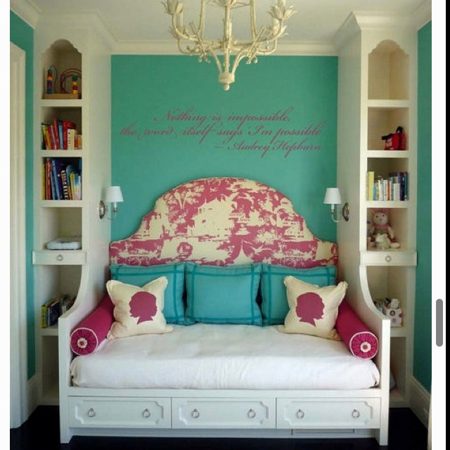 Cute room! plus i love her quotes