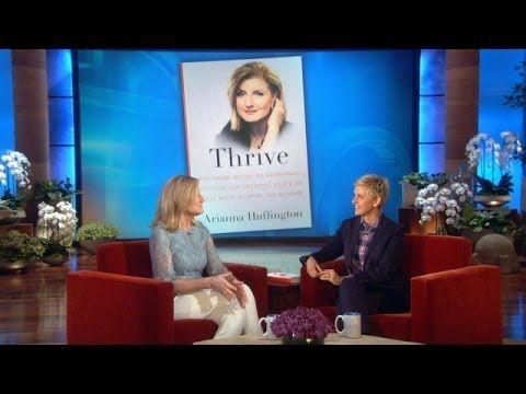 Arianna Huffington Talks 'Thrive' (+playlist)