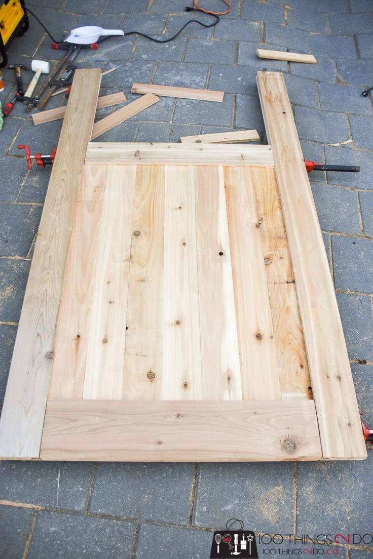 DIY Garden Gate   Wooden garden gate, Garden gates ...