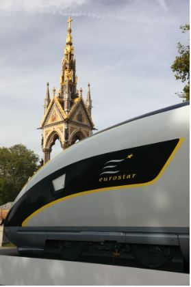 Eurostar Train from London to Paris: Better than Flying?: Eurostar high-speed train, the new luxury travel way to get from London to Paris or Brussels.