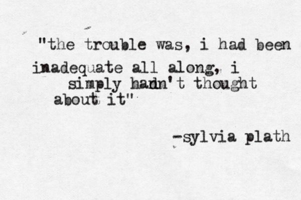 how sylvia plath described depression in a way that everyone can relate to