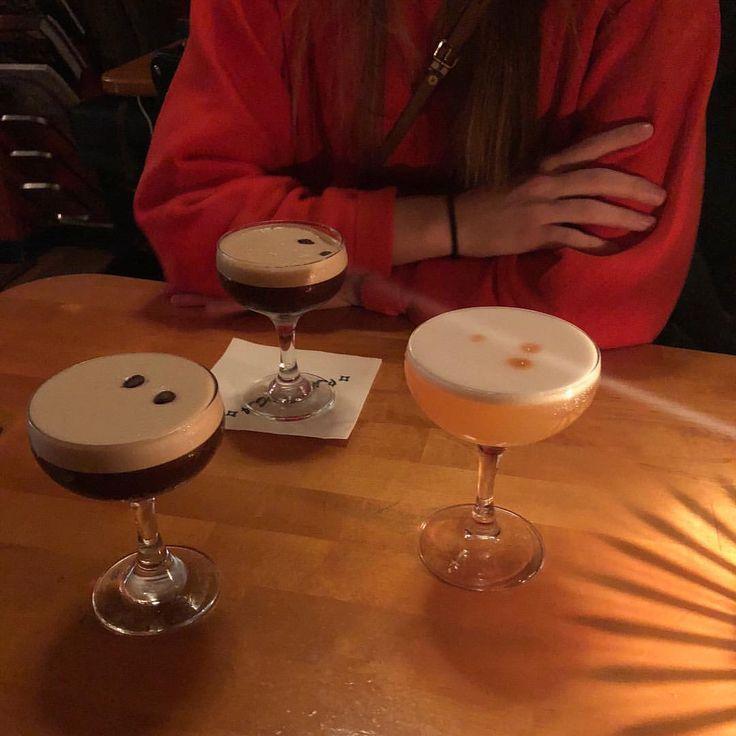 Espresso Martini & Whisky Sour, Bar Boca, Oslo.