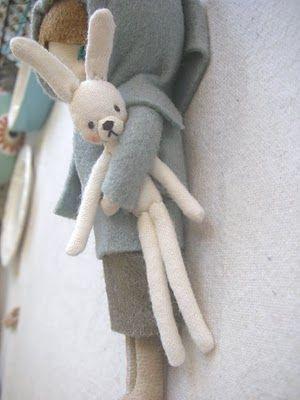 Evangelione: Fabric Doll - cute!