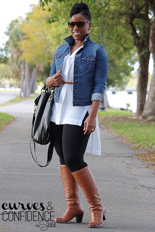 Weekend Wear: Wearing Leggings as Pants