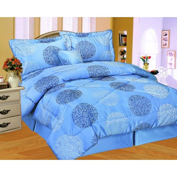 Blue Bedding Sets Queen Size Manchester Comforter Sets