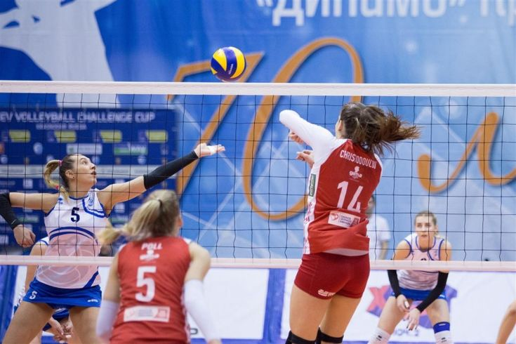 2018 CEV Volleyball Challenge-Cup Women. Semifinals. 2ος αγώνας. Palais de Sports Olympus, Krasnodar, Russia. 21/03/2018. VC Dinamo Krasnodar - Olympiacos S.F.P. 0-3. (20-25, 15-25, 13-25).