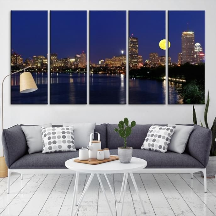 Boston Wall Art best 25+ boston skyline ideas on pinterest | massachusetts usa