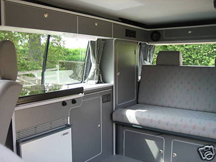 1000 images about campervan on pinterest for Vw t4 interior designs