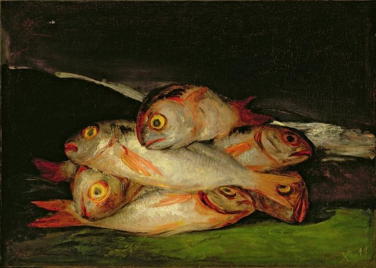 Still Life with Golden Bream, Francisco Goya