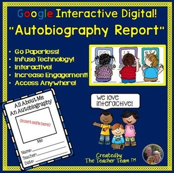 autobiography of a student pdf