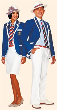 Jeff Banks's outfits for Belize's Olympics team