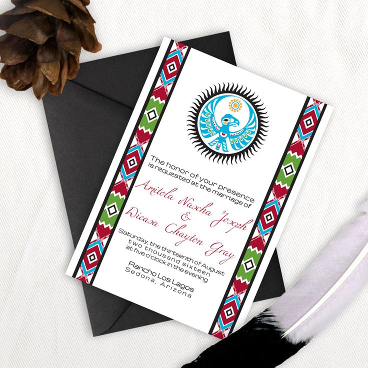Native American Wedding Invitations: 52 Best Images About Original Wedding Menu Ideas On