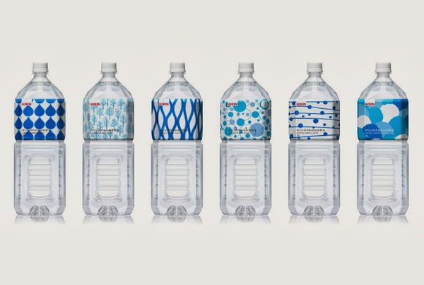 12 Bottled Water Packaging Innovations - From Lush Beverage Branding to Haute Couture Water Vessels (TOPLIST)