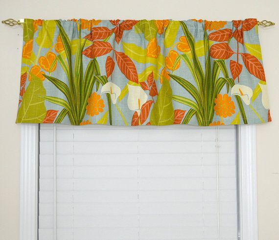 Tropical Kitchen Curtains Clearance Palm Fern Tablecloth