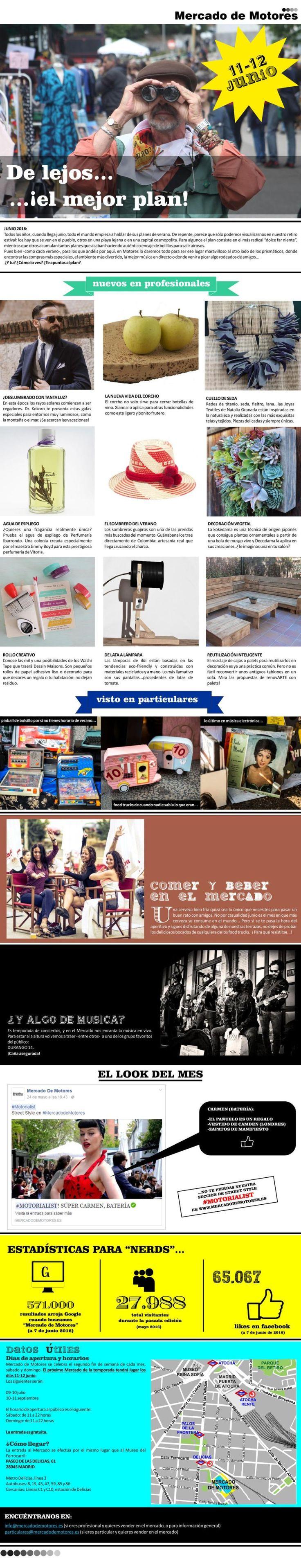 Xianna en la Newsletter de Mercado de Motores Junio 2016