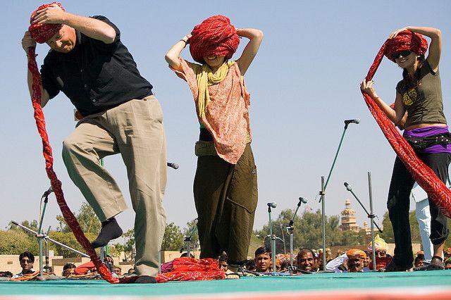 turban tying competetion