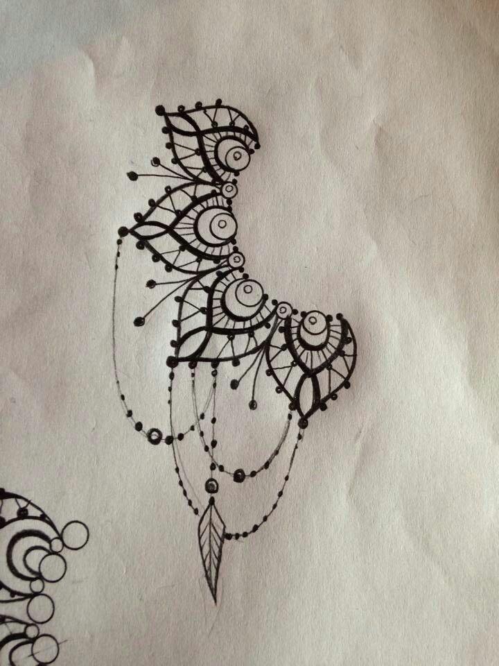 Lionhead Mandala With Solar Eclipse Tattoo On Upper Back