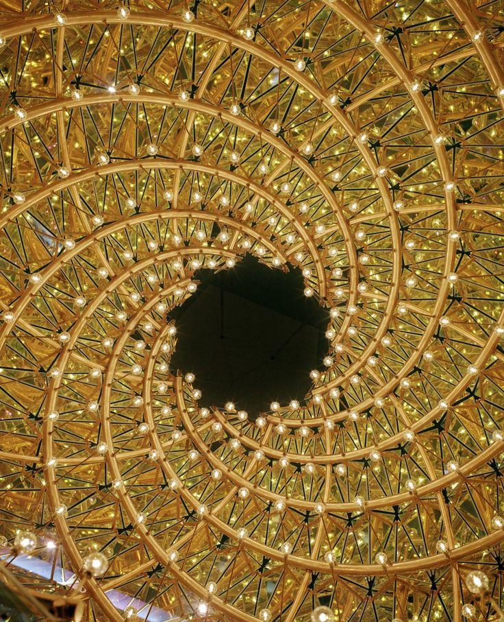 Opera Köpenhamn Henning Larsen kristallkronor av Olafur Eliasson Fotograf Ulf Celander